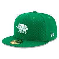 Oakland Athletics New Era 2020 St. Patrick's Day On Field 59FIFTY Fitted Hat - Kelly Green