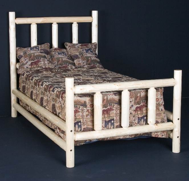 Conventional Wooden Headboard (Twin - Clear)