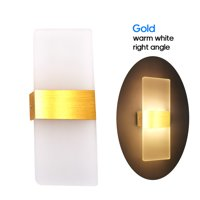 AC 85-265V 6W Modern Wall Sconce Up Down Lamp Acrylic LEDs Wall Mounted Lights Indoor Lighting for Bedroom Balcony Hallway Corridor Stairs
