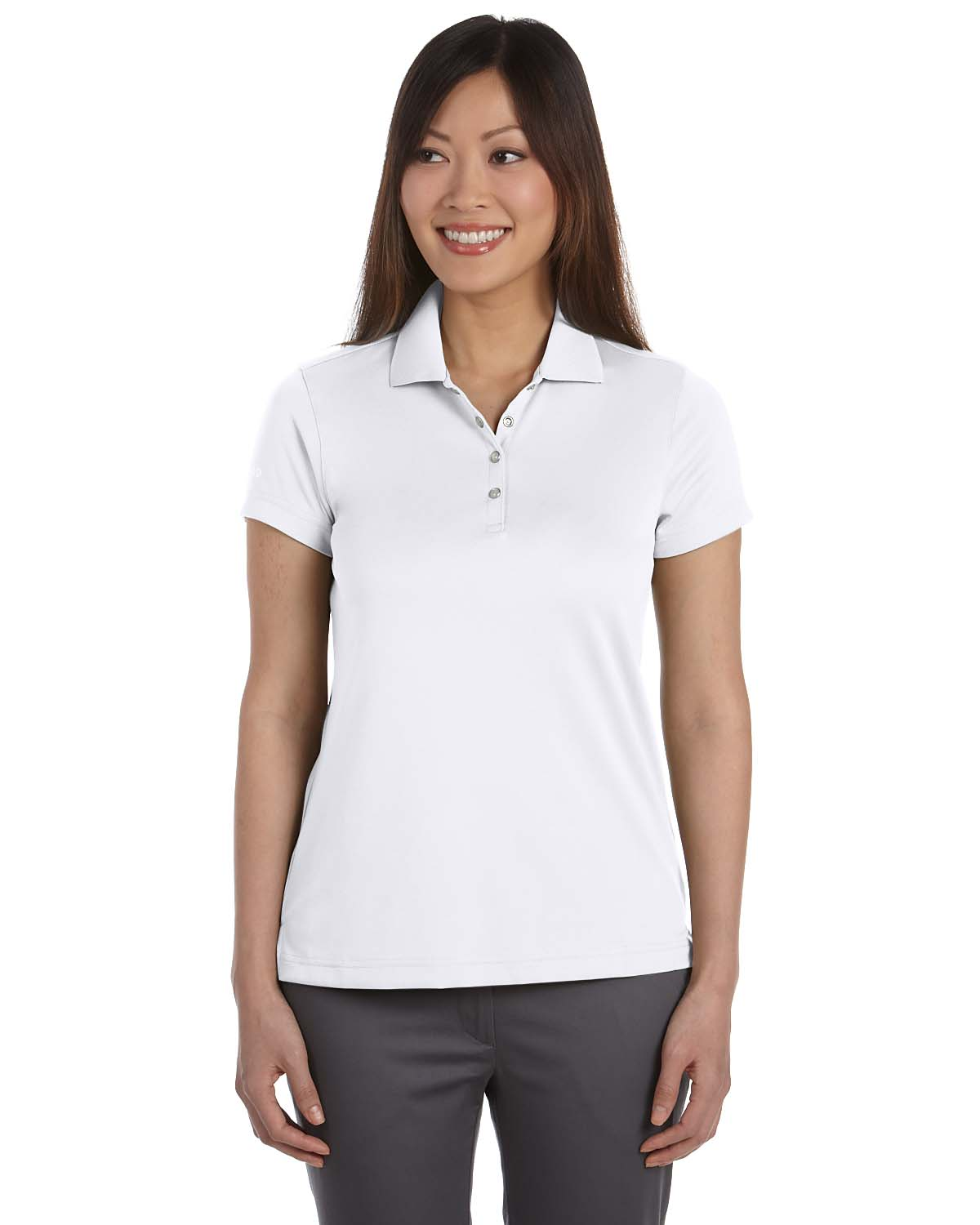 Izod 13Z0081 Golf Shirt Women's Short Sleeve Performance Pique by Izod