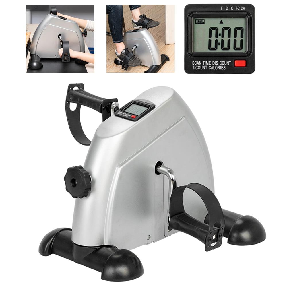 Details about  /Under Desk Elliptical Trainer Machine Under Pedal Exerciser Stepper Cycle Bike/_@