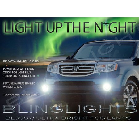 New 2012 2013 2014 2015 Honda Pilot Fog Lamps Driving Lights Kit (Pilot Driving Lights)