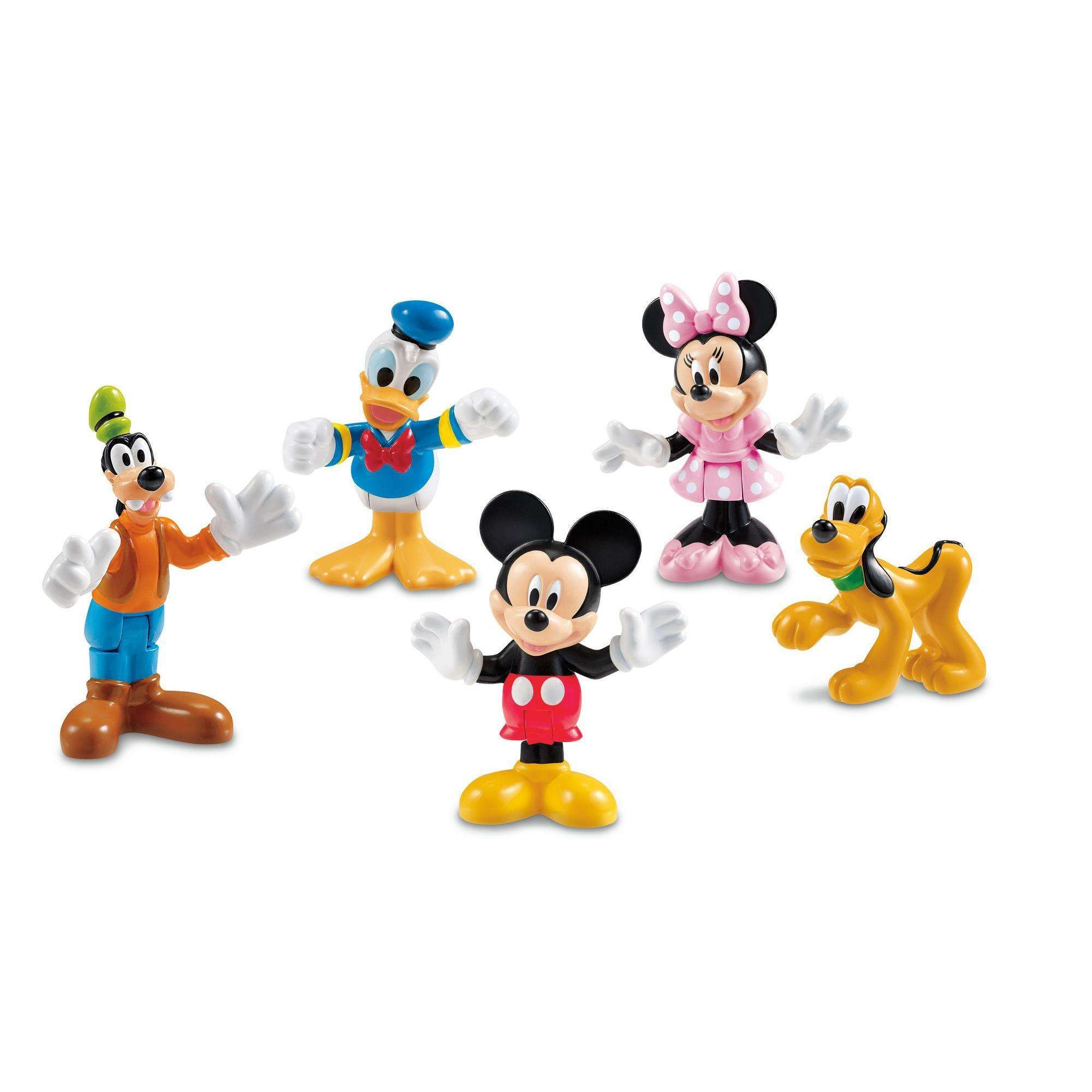 Disney Mickey Mouse Clubhouse Pals Collectible Figures Set