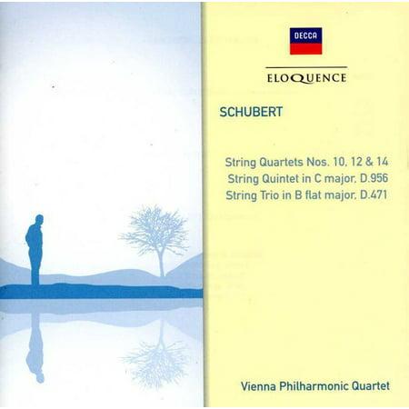 Schubert: STR QRTS Nos 10 / 12 & 14 / STR Trio 471 (CD)