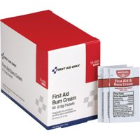 First Aid Only, FAO13600, Burn Cream Packets, 60 / Box