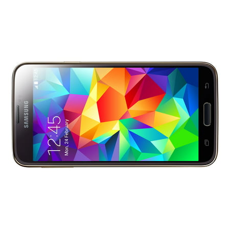 Samsung Galaxy S5 G900A 16GB Unlocked GSM Phone w/ 16MP Camera - Gold (Certified Refurbished) (Samsung S5 Amplifier)