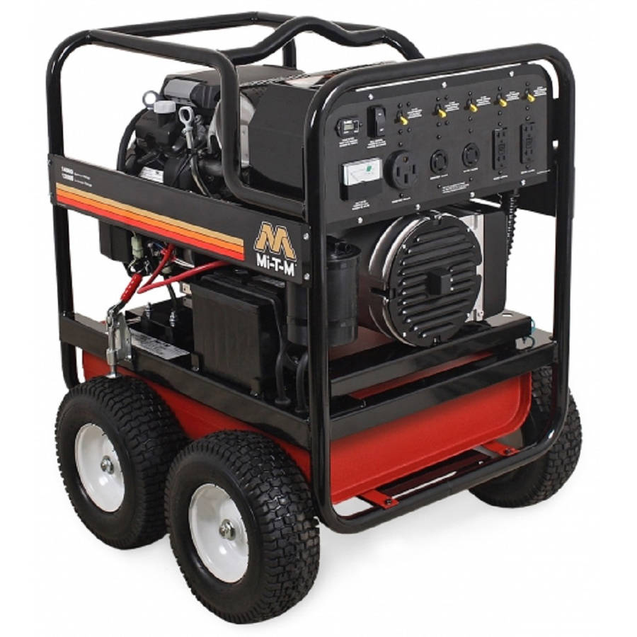 Click here to buy Mi-T-M GEN-14000-1MHE Gasoline Generator, 14000W Maximum AC Output by Mi-T-M.