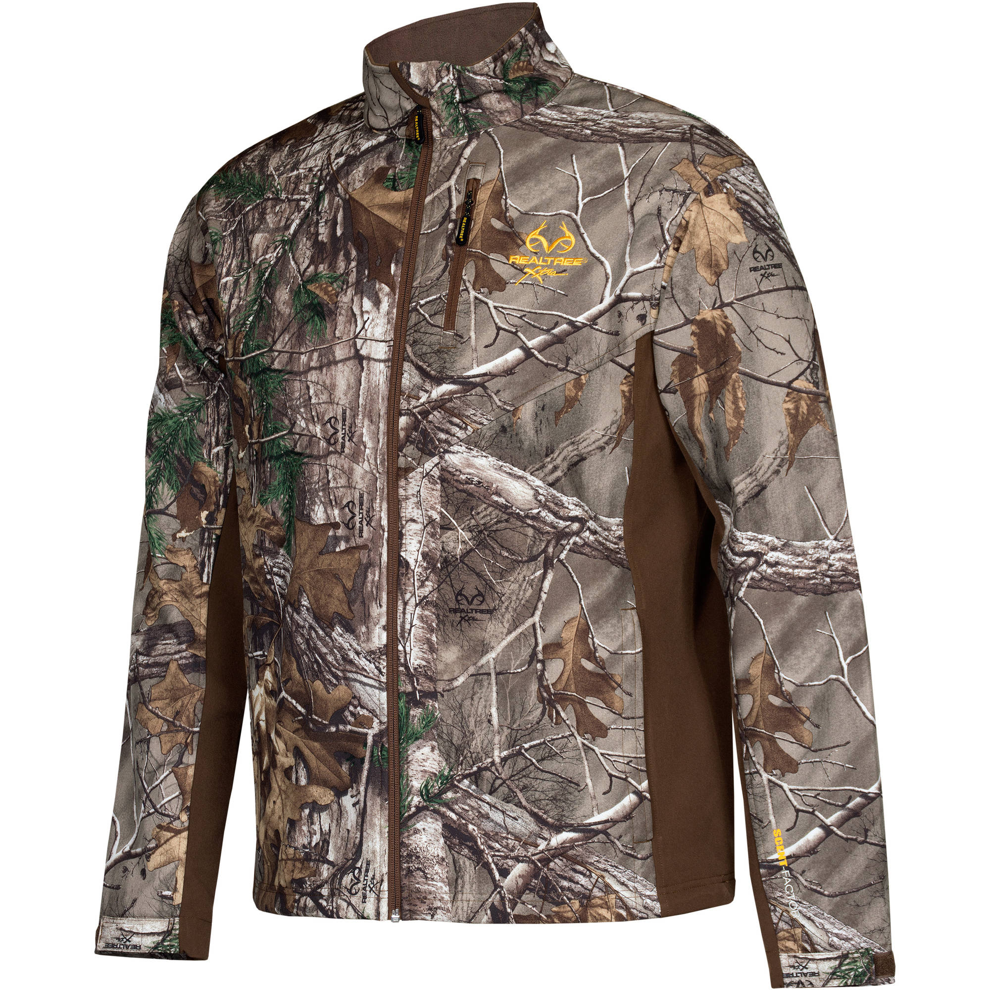Men's Softshell Jacket, Realtree Xtra Dark Earth by IMPORT-MAHCO INC