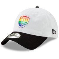 San Jose Earthquakes New Era Pride 9TWENTY Adjustable Hat - White - OSFA