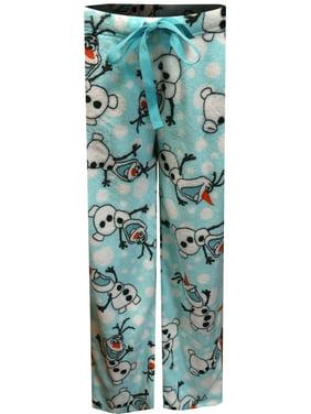 869ddfd4c9f Product Image Disney Frozen Olaf Minky Plush Lounge Pants