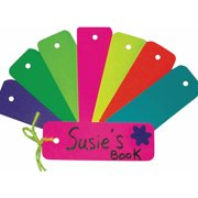 Assorted Bright Bookmarks, Pack of 100
