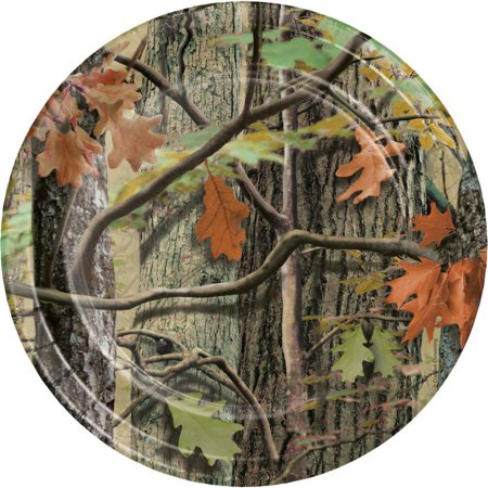 Creative Converting Hunting Camo Paper Plates, 8 ct
