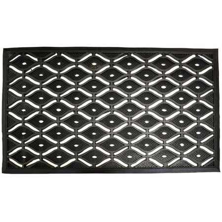 Imports Décor Eye Pin Rubber Door Mat