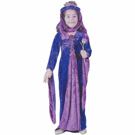 Renaissance Princess Halloween Costume (Renaissance princess velvet child halloween costume)