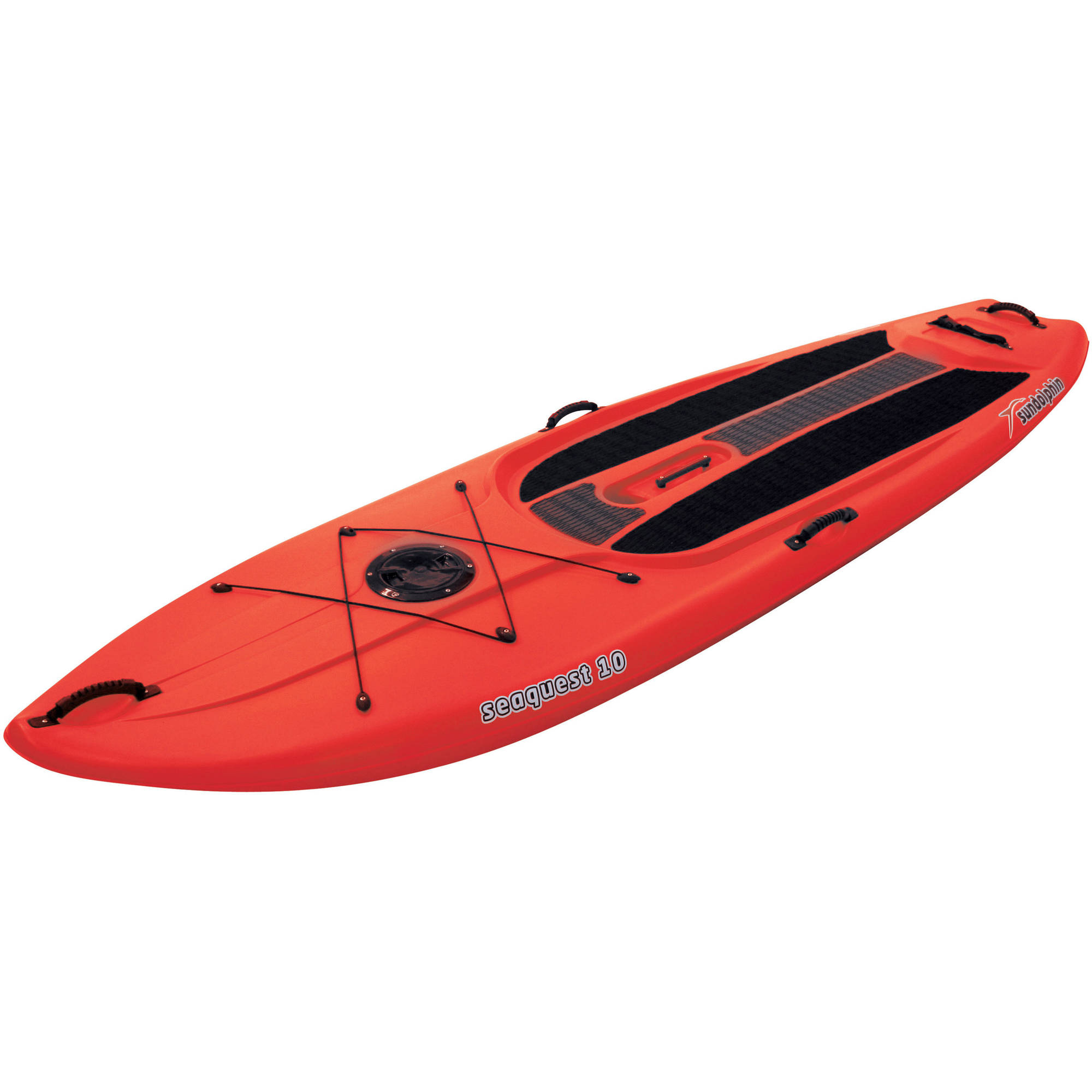 Sun Dolphin Seaquest 10' Stand-Up Paddleboard with Bonus Paddle by KL Industries
