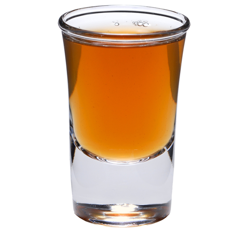 SET of 4-pc Luminarc 'Bicc Pilsen' 1.5 Oz Crystal-Clear Vodka Shotglasses