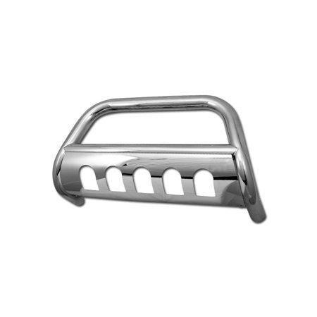 RL Concepts Stainless HD BULL BAR (brush push bumper grill guard) V2 07-14 FJ CRUISER CHROME