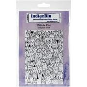"IndigoBlu Cling Mounted Stamp 5""X4""-Kibble Kits"