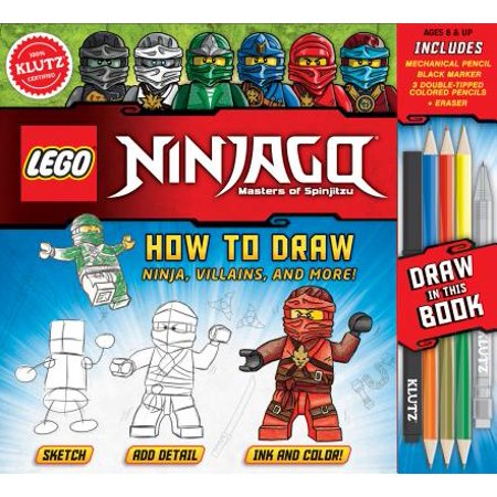 Halloween Ideas To Draw (Lego Ninjago: How to Draw Ninja, Villains, and)