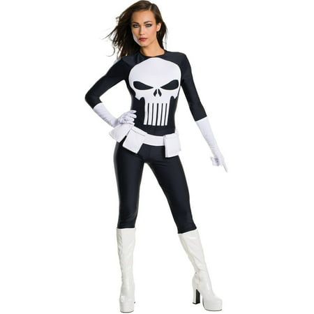 Punisher Secret Wishes Women's Adult Halloween - Punisher Costume