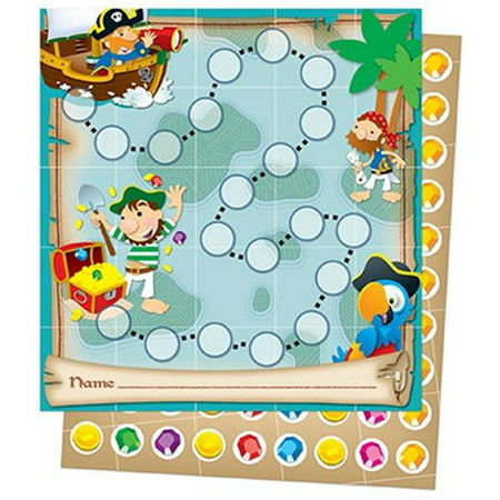 Carson Dellosa CD-148013 Pirates Mini Incentive Charts