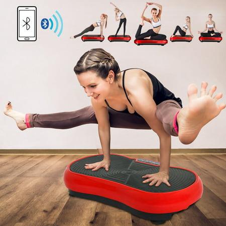 ZENY Fitness Vibration Platform Workout Machine Crazy Fit Massage Workout Trainer New (Vibrating Workout Machine)