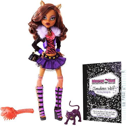 Mattel Monster High Clawdeen Wolf Doll