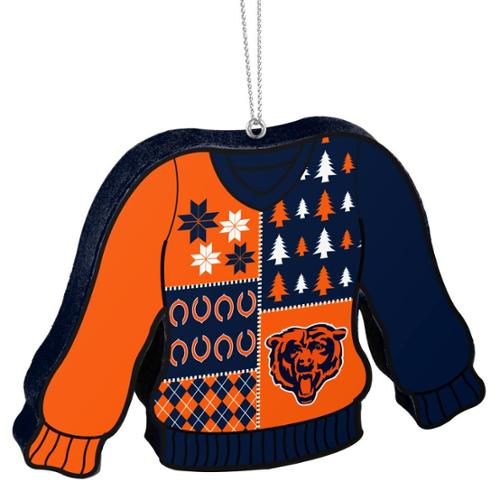 Chicago Bears Official Nfl 55 Inch Foam Ugly Sweater Christmas
