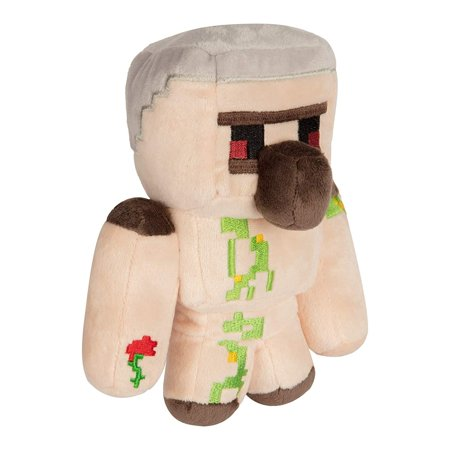 Minecraft Happy Explorer Series 7 Inch Collectible Plush Toy - Iron Golem](Happy Halloween Minecraft Side Stories)