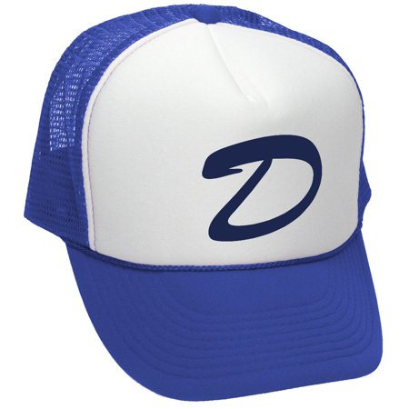 Signature Trucker Hat (CLEMENTINES HAT - dead zombies game brooklyn Mesh Trucker Cap Hat, Royal )