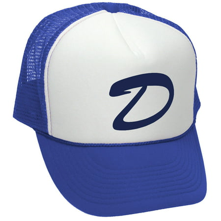 CLEMENTINES HAT - dead zombies game brooklyn Mesh Trucker Cap Hat, Royal - Blank Trucker Hats