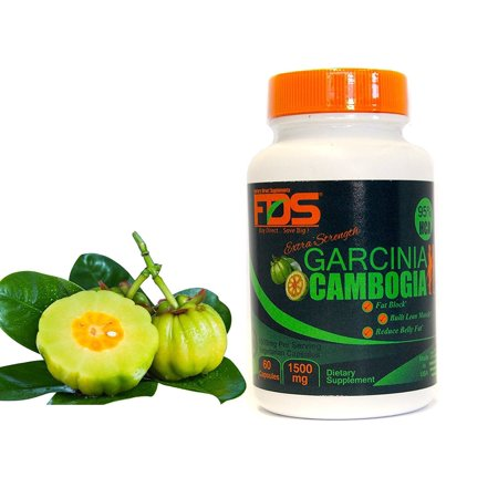Fds Extra Strength Garcinia Cambogia  95  Hca  Highest Absorption Formula 1500 Mg 60 Capsules