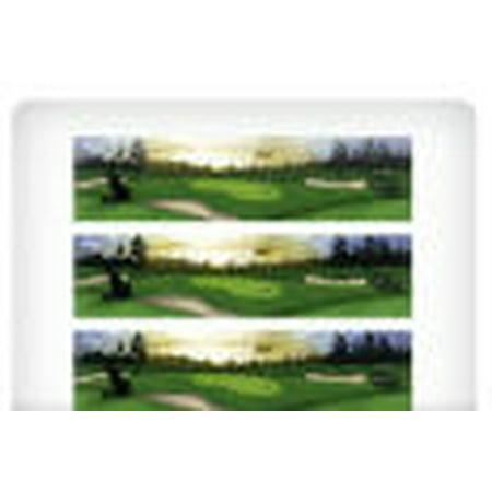 Golf Scene Edible Photo Image Cake Border Decoration - Decoration Border
