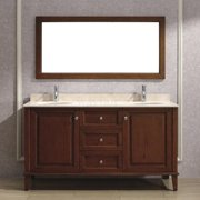 Bauhaus Bath Milly 63'' Double Bathroom Vanity Set with Mirror