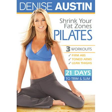 Denise Austin: Shrink Your Fat Zones Pilates (DVD) - Fat Bastard In Austin Powers