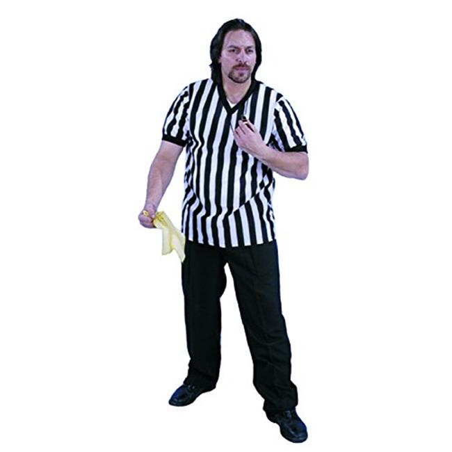 Alexander Costume 13-252 Referee V-Neck Shirt - Large