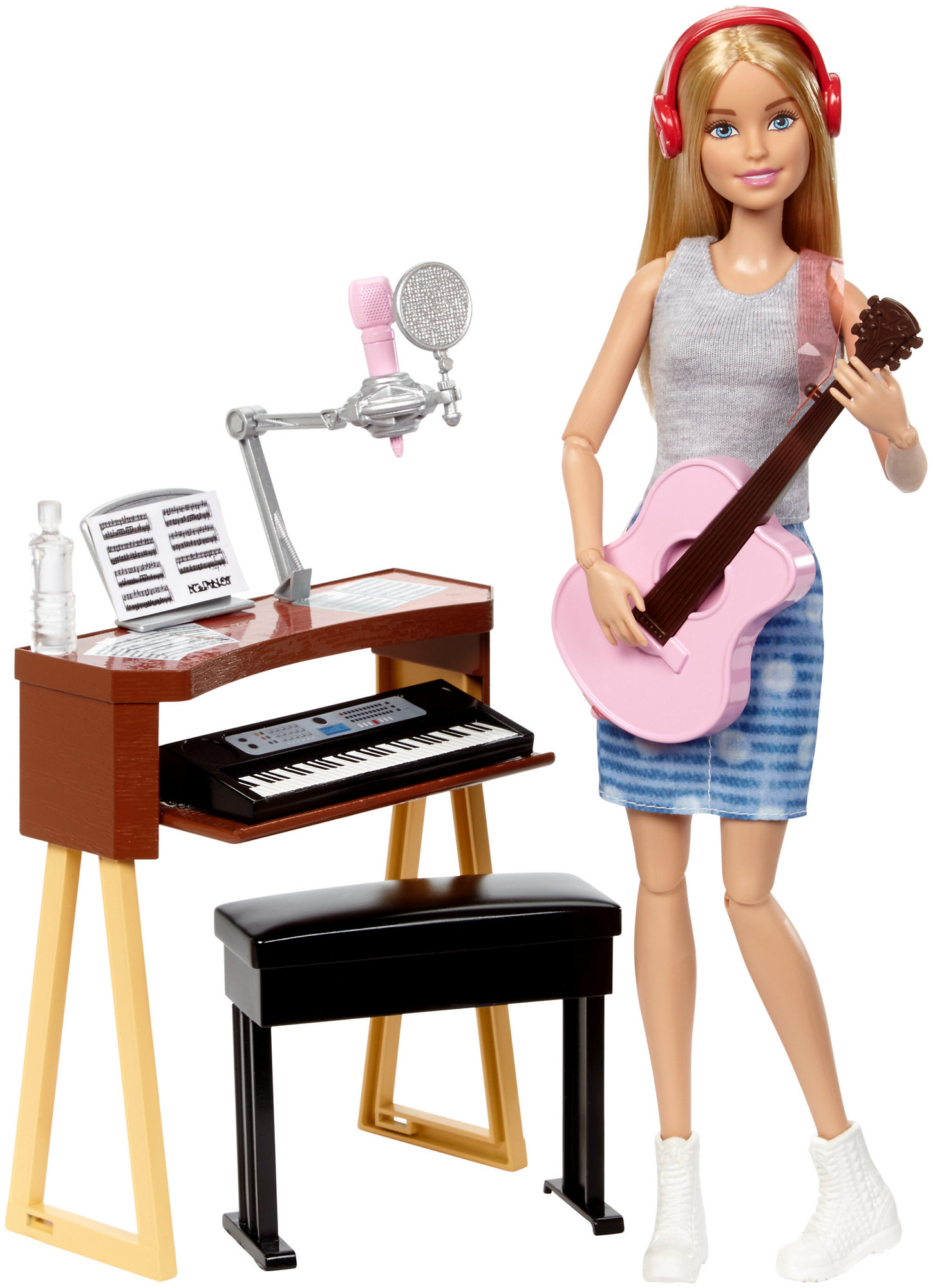 Barbie Careers Musician Doll & Playset, Blonde by MATTEL BRANDS A DIVISION OF MATTEL DIRECT IMPORT INC