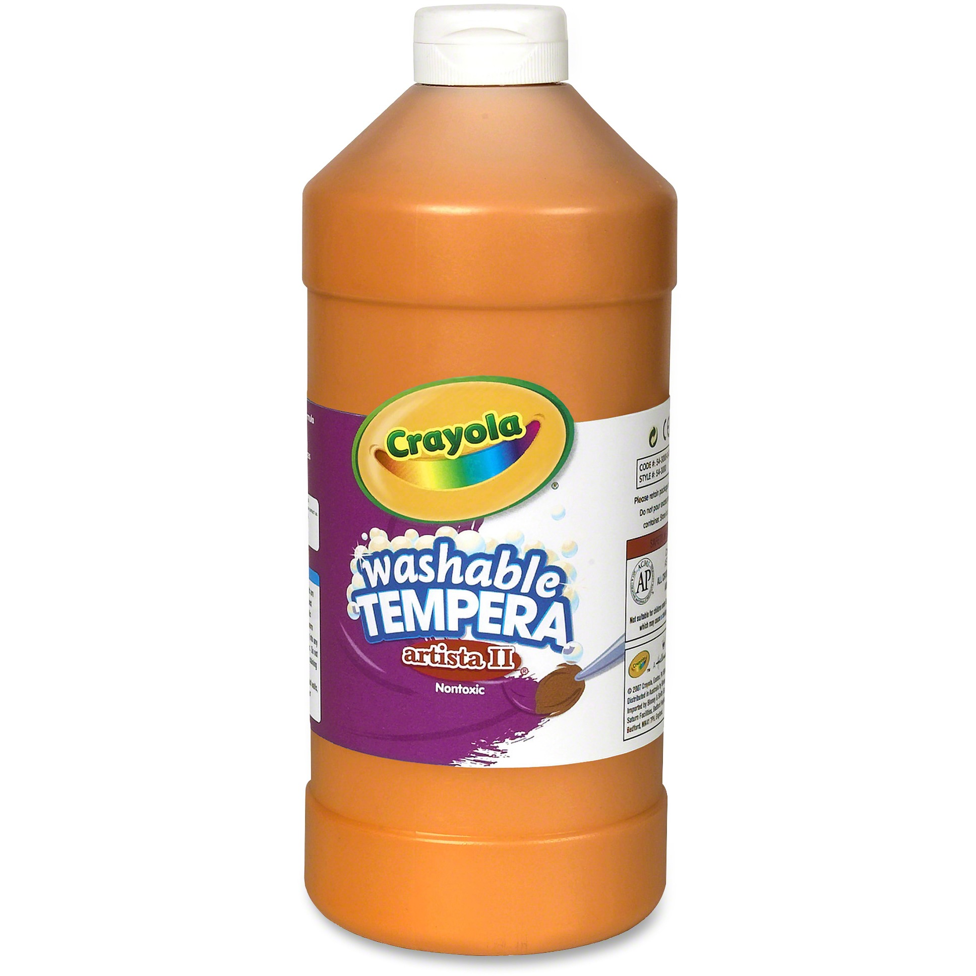 Artista II Washable Tempera Paint, 32 oz, Blue