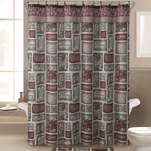 Victoria Classics Patchwork Shower Curtain