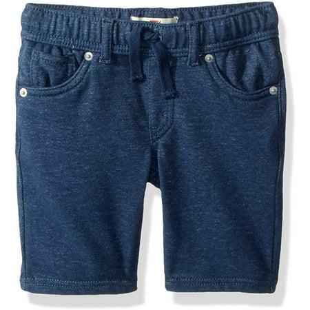 Levi's Boys' Toddler Soft Knit Jogger Shorts, Insignia Blue, 4T - image 1 de 1