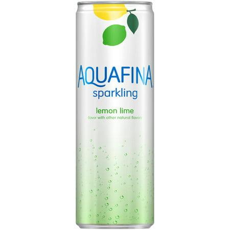Aquafina Sparkling Lemon Lime Water Beverage, 12 fl oz