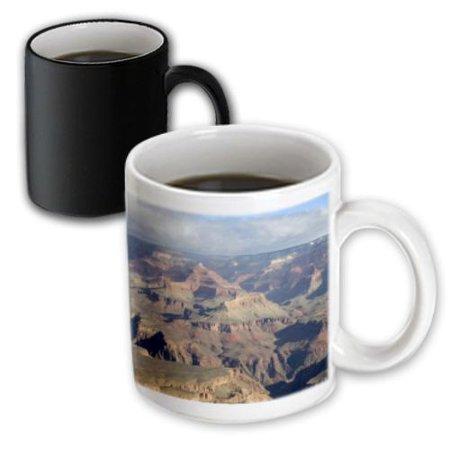 3dRose South Rim view of the Grand Canyon, Arizona - US03 DFR0024 - David R. Frazier, Magic Transforming Mug, 11oz