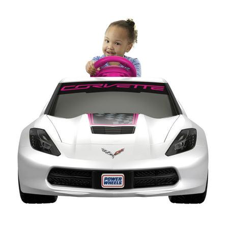 Power Wheels Girls Corvette 6V Battery Powered Ride On