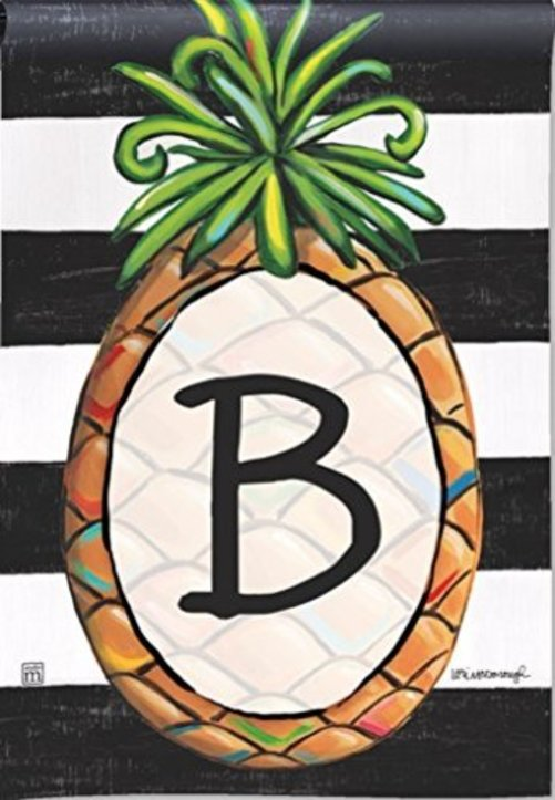 "New Fall Yard Flags Pineapple Welcome 28/"" x 40/"" Breeze Art Solar Silk Polyester"
