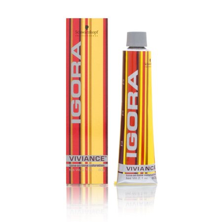 Schwarzkopf Igora Viviance Tone-on-Tone Coloration Tube 6-68 Dark Auburn Blonde - Is Auburn Red