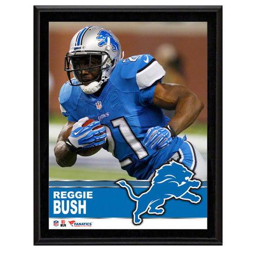 NFL - Reggie Bush Detroit Lions Sublimated 10x13 Plaque