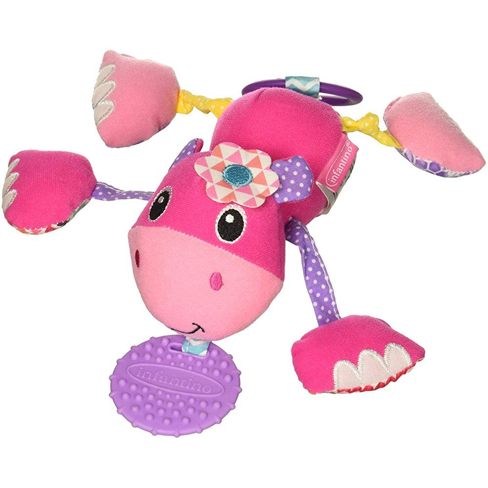 Infantino Jittery Pal Hippo by Infantino