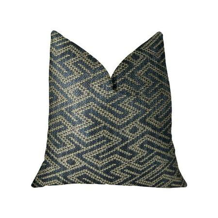 Plutus PBRAZ385-2036-DP City Lights Blue Handmade Luxury Pillow, 20 x 36 in. King - image 1 de 3