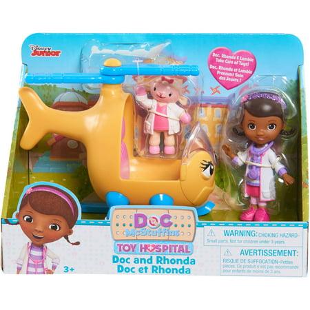 Disney Doc McStuffins Rhonda with Lambie