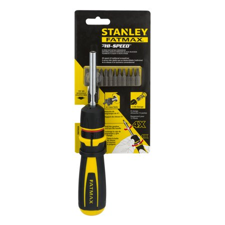 Fatmax Screwdriver - Stanley FatMax FMHT69236 Hi-Speed™ Ratcheting Screwdriver